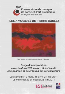 flyer anthèmes