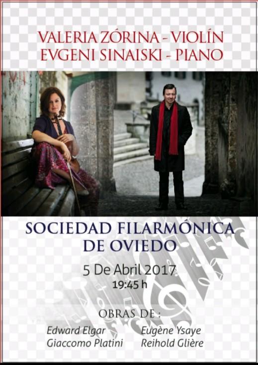 Concerto YLL OVIEDO - Valeria 2017